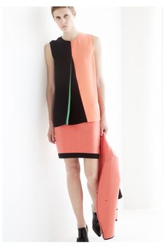 Cédric Charlier Resort 2014 Collection Slideshow on Style.com