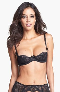 L'Agent by Agent Provocateur 'Vanesa' Underwire Demi Bra available at #Nordstrom