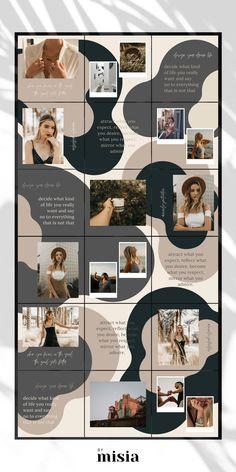 Graphic Design Services - Hire a Graphic Designer Today Instagram Feed Ideas Posts, Instagram Feed Layout, Instagram Grid, Instagram Frame, Instagram Story Template, Instagram Templates, Free Instagram, Web Design, Grid Design