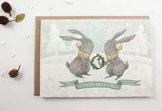 Season's Greetings - 10 Greeting Cards