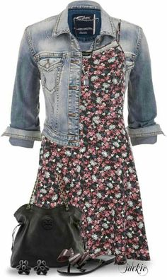 Casual dress outfits make your look younger. You do not need to wear something cumbersome; choose the casual dress to show the different side of you. Casual Dress Outfits, Mode Outfits, Trendy Dresses, Cute Dresses, Fashion Outfits, Casual Wear, Outfit Jeans, Dress Fashion, Spring Dresses Casual