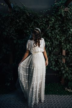 boho lace wedding dress - The latest in Bohemian Fashion! These literally go viral!