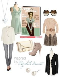 a modern day Elizabeth Bennet's wardrobe