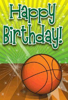 Free Printable Birthday Card - Basketball | Greetings ...