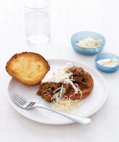 Not-So-Sloppy Joes | Get the recipe for Not-So-Sloppy Joes.