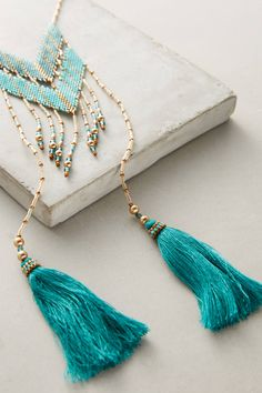 Shop the Gitan Beaded Tassel Necklace and more Anthropologie at Anthropologie today. Read customer reviews, discover product details and more.