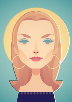 Michelle Pfeiffer - Stanley Chow Illustration of Manchester England Flat Illustration, Character Illustration, Stanley Chow, Caricatures, Graphic Design Inspiration, Amazing Nature, Art Reference, Pop Art, Graphic Art