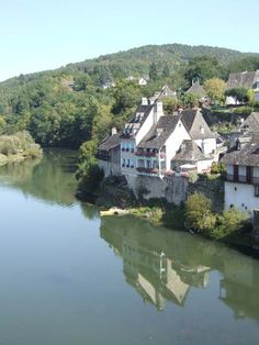 Argentat sur Dordogne. my grandfather was born in one of the houses on the right