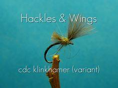 Fly Tying CdC Klinkhamer (variant) - YouTube