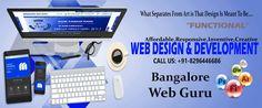 #No1 #Web Design & #Development #Firms in #India. Visit : www.bangalorewebguru.co.in