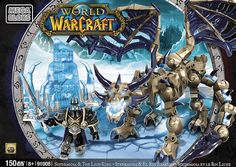 Mega Bloks World of Warcraft Sindragosa and the Lich King Play Set Warcraft 1, World Of Warcraft, Pandaren Monk, King Play, Lich King, Wow World, Black Friday Specials, Toy Sale, Building Toys