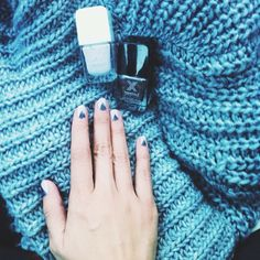 Nails done for a cozy weekend (LA is finally getting chilly!) with polishes from @Debbie Arruda Miller X Nail // #MyFormulaXPic