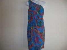 LAUREN RALPH LAUREN WOMENS KNIT JERSEY PRINTED DRESS SIZES 2 10  MSRP $139. #LaurenRalphLauren #EmpireWaist #SummerBeach