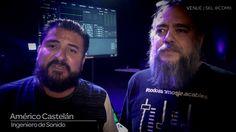 Américo Castelán y José Luis Doblado ingenieros de sonido y VENUE | S6L