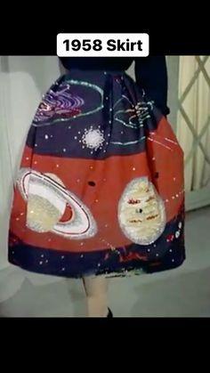 thiswasfashion on Instagram: Bring It Back or R.I.P.? 1958 skirt by Teddy Tinling via British Pathe. Alien Invasion, Lunch Box, Bring It On, British, Skirts, Instagram, Fashion, Moda, Skirt
