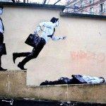 Street Art by Levalet - In Paris, France