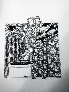 Zentangle - Coffee