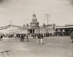 BA533/262: Exhibition Coolgardie W.A., opening day, 21 March 1899 (Click to Start Zoom)