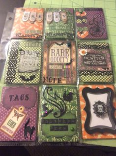 Halloween Pocket Letter by Renee
