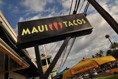 Maui Tacos, Maui & Big Island. Love their burritos (my fave is the Haiku!) and you might even run into a celebrity.