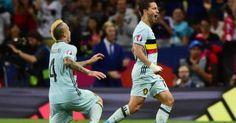 Euro 2016 il Belgio demolisce lUngheria 0-4 e vola ai quarti