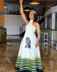 fashionable Neue Xhosa traditionelle Kleider Designs - schicke Mode Three Things You Should Know Abo South African Traditional Dresses, Traditional Dresses Designs, Traditional Outfits, African Print Dress Designs, African Print Dresses, African Prints, African Fabric, Xhosa Attire, African Attire