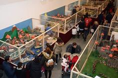 iinaugurado belen exposicion playmobil tomares con 14 dioramas millones piezas