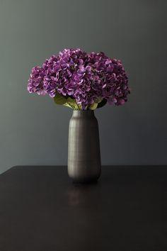 Bright Purple Tall Hydrangea Stem 74cm – Dust - Shop & Interior Design Consultancy