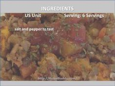Easy Lentil Rice and Veggie Bake Recipe
