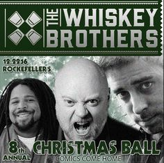 Houston, Dec 22: The Whiskey Brothers 8th Annual Christmas Ball