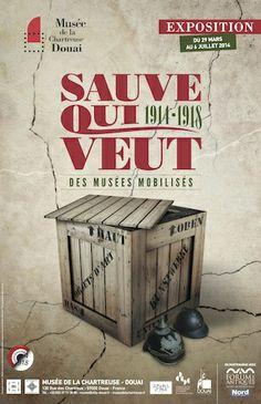 Sauve qui veut, 1914-18, des musees mobilises Musee de Douai 29 mars-6 jullet 2014