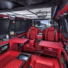 Limousine interior, truck interior, fancy cars, all cars, luxury interior. Van Interior, Luxury Interior, Truck Interior, Interior Design, Bugatti, Maserati, Luxury Van, Audi, Lexus Suv