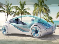 futuristic, Buick Ula Concept, Driving, Boating, car, amphibious vehicle, transparent top, concept, auto, transportation, future, automobile, Josh Henry, boat, car, 3D printed