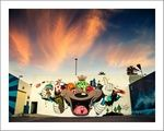 Holiday Mural by Dabs Myla