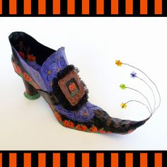 All Things Crafty: PUMPKIN PATCH Witch Shoe