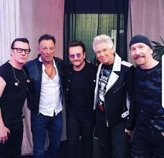 6/18/2018 Backstage MSG. Bruce & the boys