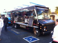 Barcelona On The Go at Mustang Food Truck Roundup in Yorba Linda.