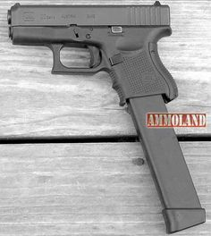 Glock 26 Pistol High Cap Mag Save those thumbs & bucks w/ free shipping on this magloader I purchased mine http://www.amazon.com/shops/raeind   No more leaving the last round out because it is too hard to get in. And you will load them faster and easier, to maximize your shooting enjoyment.