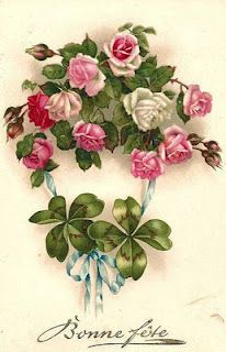 Shamrocks and roses @@@@@......http://www.pinterest.com/idanis/roses-are-red/    €€€€€€€€€€€€€€€€€€€€