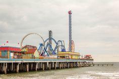 Places to visit in Texas: Galveston, Texas Pleasure Pier - like Coney Island, but in Texas! | Texas Farm Bureau Insurance blog