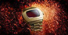 Hamilton PSR Revives Design of World's First Digital Watch - Maxim Film Blue, Seasons Restaurant, Restaurant New York, Johnny Carson, Jack Nicholson, Keith Richards, Digital Watch, First World, Lcd