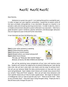 Classroom Management Forms and Rules FREEBIE - I love this version of the whole brain teaching rules the best!