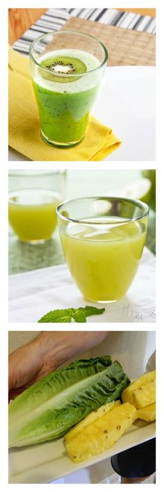 Green juice recipes!  www.all-about-juicing.com
