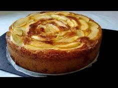Tarta de manzana muy fácil - YouTube