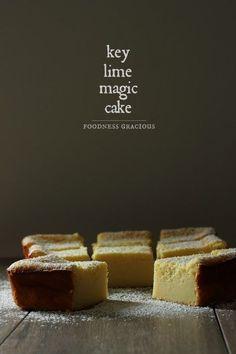 Amazing Key Lime Pie Magic Cake Recipe