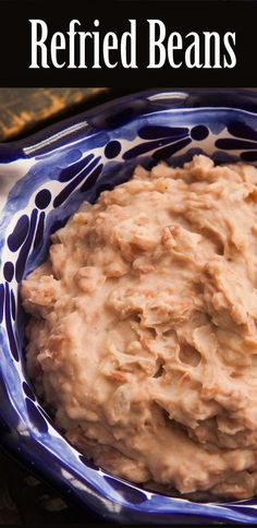 LOVE refried beans! Here is a traditional Mexican refried beans recipe, including instructions for making the beans with a pressure cooker if you have one. On SimplyRecipes.com