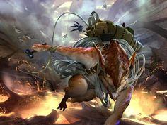 Chasm Guide - Battle for Zendikar MtG Art