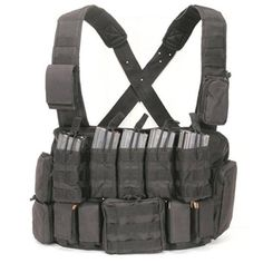 VooDoo Tactical Chest Rig Black