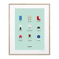 Découvrez des illustrations qui puisent leurs inspirations dans : le design et l'architecture, mais aussi les objets, les personnages et les marques iconiques.