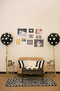 I see nothing less then perfection in the theme!!!!!!!!Mr. ONEderful Tuxedo Themed 1st Birthday Party